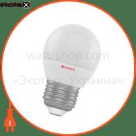 Лампа светодиодная шар LB-4 4W E27 4000K алюмопласт. корп. A-LB-0515