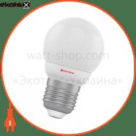 Лампа светодиодная шар LB-5 4W E27 2700K алюмопласт. корп. A-LB-1809