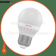 Лампа светодиодная шар LB-8 3W E27 2700K алюмопласт. корп. A-LB-0534