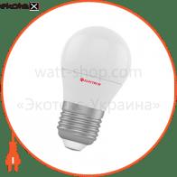 Лампа светодиодная шар LB-9 6W E27 4000K алюмопласт. корп. A-LB-1841