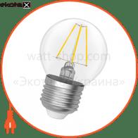 Лампа светодиодная шар-ретро LB-4F 4W E27 2900K A-LB-0412