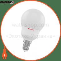 Лампа светодиодная стандартная А50 LD-7 6W E14 3000K алюмопл. корп. A-LD-1356
