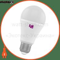 Лампа светодиодная стандартная B60 PA-10 15W E27 4000K алюмопл. корп. 18-0045