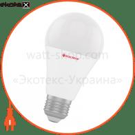 Лампа светодиодная стандартная LS-22 15W E27 4000K алюмопл. корп. A-LS-0148