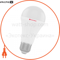 Лампа светодиодная стандартная LS-28 18W E27 3000K алюмопл. корп. A-LS-0441
