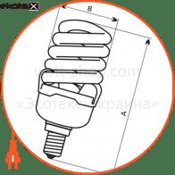 лампа энергосберегающая fc-111 18w e14 2700k  - a-fc-1454 энергосберегающие лампы electrum Electrum A-FC-1454