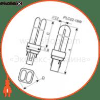 лампа компактная pl-c22 18w/2700 g24d-2  - a-fc-0165 энергосберегающие лампы electrum Electrum A-FC-0165
