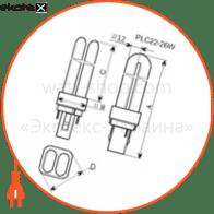 лампа компактная pl-c22 26w/4000 g24d-3  - a-fc-0168 энергосберегающие лампы electrum Electrum A-FC-0168