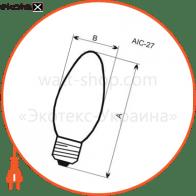 лампа светодиодная свеча lc-30 5w e14 4000k алюм. корп. a-lc-0025 светодиодные лампы electrum Electrum A-LC-0025