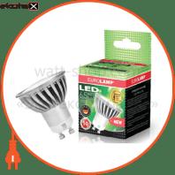 LED лампа MR16 GU10 220V 5,5W 4100K Eurolamp