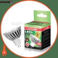 LED лампа MR16 GU5.3 12V 5.5W 3000K Eurolamp