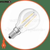 LED лампа OSRAM LED RETROFIT CLASSIC RF CLP25 2W 827 230V FIL E14  4052899936447