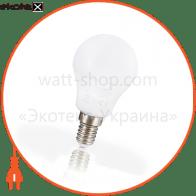 Лампа светодиодная евросвет 5 Вт 3000К Р-5-3000-14 E14