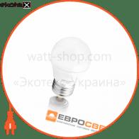 Лампа світлодіодна ЕВРОСВЕТ 5Вт 3000К Р-5-3000-27 E27
