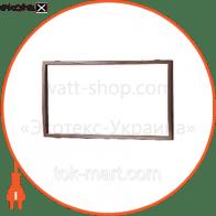Вставка двойная коричневая Mira (801-0218-701)