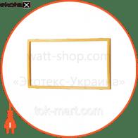Вставка двойная золото Mira (801-0226-701)