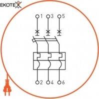 Enext i0660017 силовой автоматический выключатель e.industrial.ukm.250sl.100, 3р, 100а