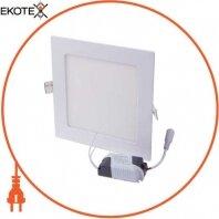 Светильник светодиодный встраив e.LED.MP.Square.R.12.4500, квадрат, 12Вт, 4500К, 840Лм