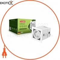 EUROLAMP Светильник карданный врезной для ламп GU10 white
