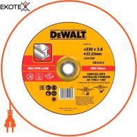 Круг отрезной DeWALT DT43913