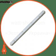 Люминесцентный светильник 1х36 с ЭПРА IP65