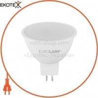 LED Лампа EUROLAMP ЕКО MR16 5W 12V GU5.3 4000K