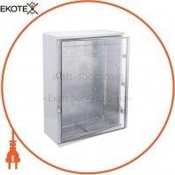 Корпус пластиковый ЩМПп 800х600х260мм прозрачная дверь УХЛ1 IP65 IEK