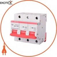 Модульный автоматический выключатель e.industrial.mcb.150.3.C63, 3р, 63А, C, 15кА