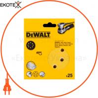 Шлифшкурка самоклеющаяся для эксцентриковых шлифмашин DeWALT DT3137XM