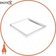 Рамка для монтажа на поверхность e.LED PANEL.600.frame.white 600х600мм, белая