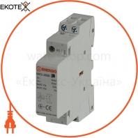 Модульный контактор ENERGIO MC1 2p 20A 2NO