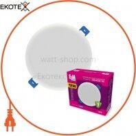 Светильник светодиодный встраиваемый Grace-12 12W 4000К IP20 белый 26-0091