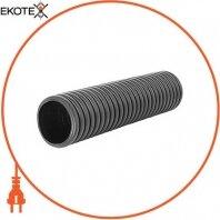 Труба гофрированная двустенная черная e.kor.tube.black.110.95, 110/95мм (50м)