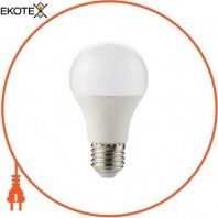 Лампа светодиодная e.LED.lamp.A60.E27.10.4000, 10Вт, 4000К