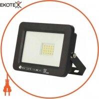 Прожектор SMD LED 20W 6400K 1600Lm 175-250V IP65 черный