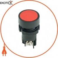 Кнопка пластиковая без фиксации e.mb.ea145 красная 1NO+1NC
