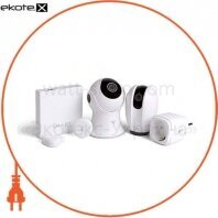 """Комплект """"Дача под контролем"""" (камера Howlet, камера Bloom, розетка, контроллер, датчик температуры и влажности, датчик открывания дверей и окон)"""