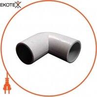 Угловой соединитель e.pipe.angle.stand.25 для труб d25мм
