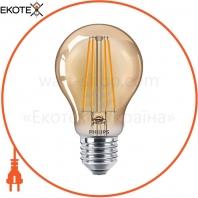Лампа светодиодная Philips Filament LED Classic 5.5-48 Вт A60 E27 825 CL GNDAPR