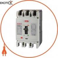 Силовой автоматический выключатель e.industrial.ukm.250SL.250, 3р, 250А