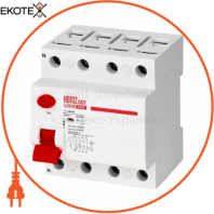 Дифференциальный автоматический выключатель 4Р 100А 30mA 230V