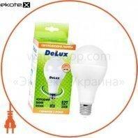 лампа светодиодная DELUX BL80 20Вт 6500K Е27 холодный белый
