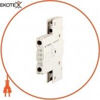 Блок дополнительных контактов боковой для АЗД (40-80) e.mp.pro.dz11: дополнительный 1NO + 1NC