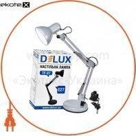 Светильник настольный DELUX TF-07_E27 серебро