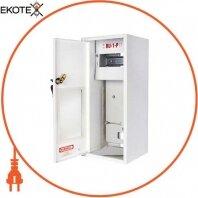 Шкаф распределительный e.mbox.RU-1-P мет. навесной, 1-ф. счетчик,6 мод., 395х175х165 мм