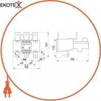 Enext i0110021 тепловое реле e.industrial.ukh.220.160.240, номин. ток 220а, гиап. регул. 160-240 а