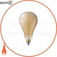 Лампа Filament Philips LED classic-giant 40W E27 A160 GOLD DIM
