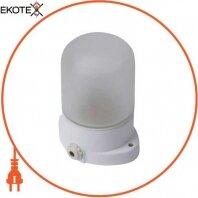 Світильник e.light.sauna.1.60.27.white, Е27, 60Вт, IP54, керамічний корпус, термостійкий, білий
