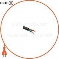 Провод соединительный медный ELCOR ПВС 2х1,5 чёрный ГОСТ