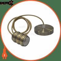 Светильник подвесной E27 металл (медь, золото, хром, черный)